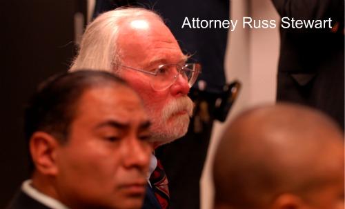 Attorney Russ Stewart /Patrick McDonough Rahm Emanuel