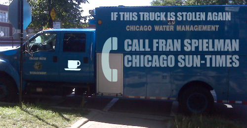 Chicago WATER Investigator Truck/ Chicago Clout