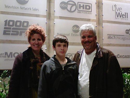 Deborah and Jack Franks with Patrick McDonough