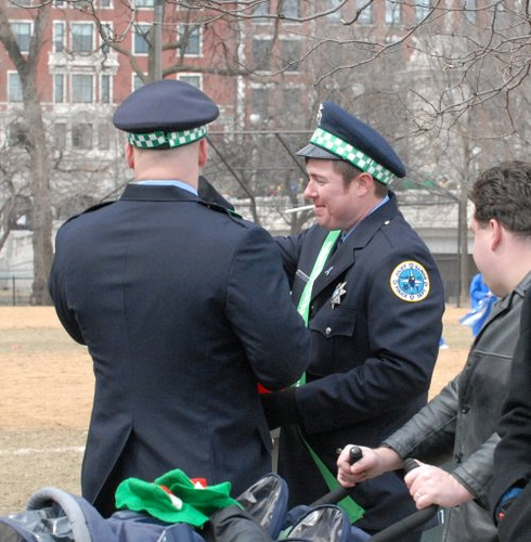 Joliet Police at Chicago's Saint Patrick's Day Parade.jpg