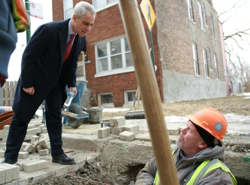Rahm Emanuel talks to City Workers Politics on City time Final - Copy.jpg