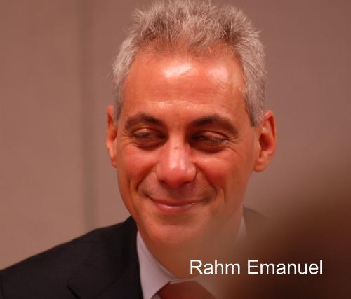 Rahm Emanuel/ChicagoClout/PatrickMcDonough