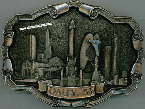 Richard Daley Belt buckle failed 1983 mayoral bid