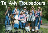 Tel Aviv Troubadours on Chicago Clout