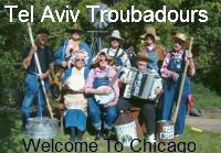 Tel Aviv Troubadours on Chicago Clout