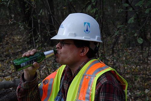 Drinking on the Job Chicago City Worker.jpg